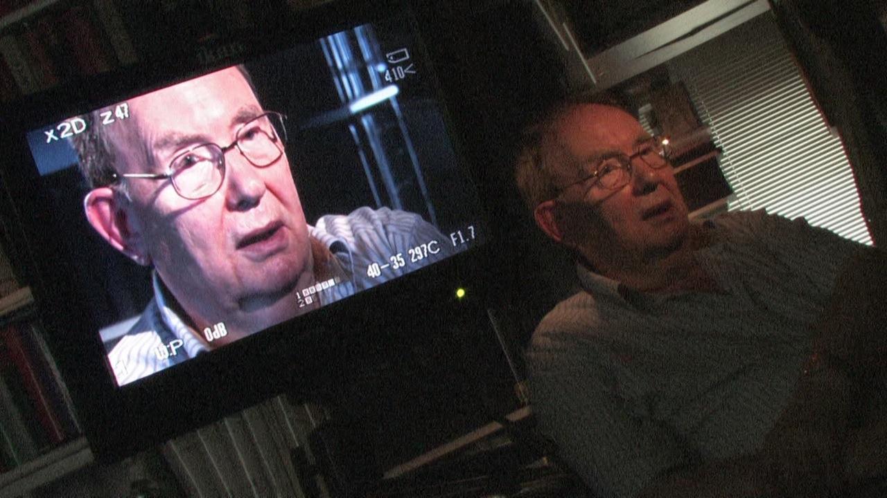 """aus """"Kongo Müller Eine deutsch-deutsche Geschichte"""" Gerd Heidemann, ehem. STERN Reporter,  Foto: Sebastian Hattop (c) a +r film"""